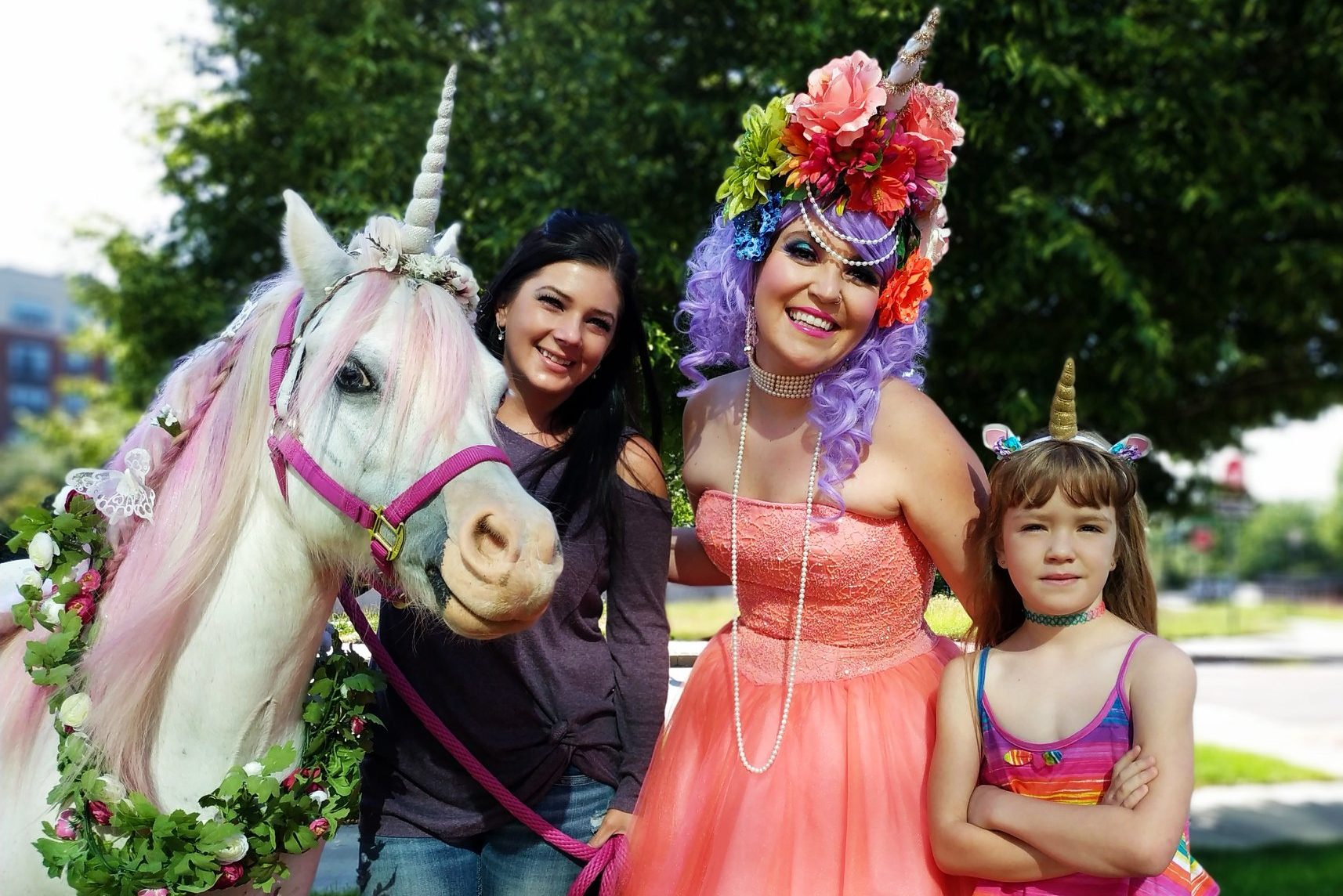 Come Pet Real Unicorns And Get A Photo Opp With Mermaids At Denver's Unicorn Festival This Saturday